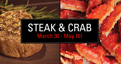 Steak & Crab