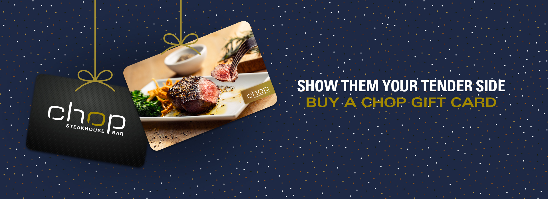 Buy a gift card.