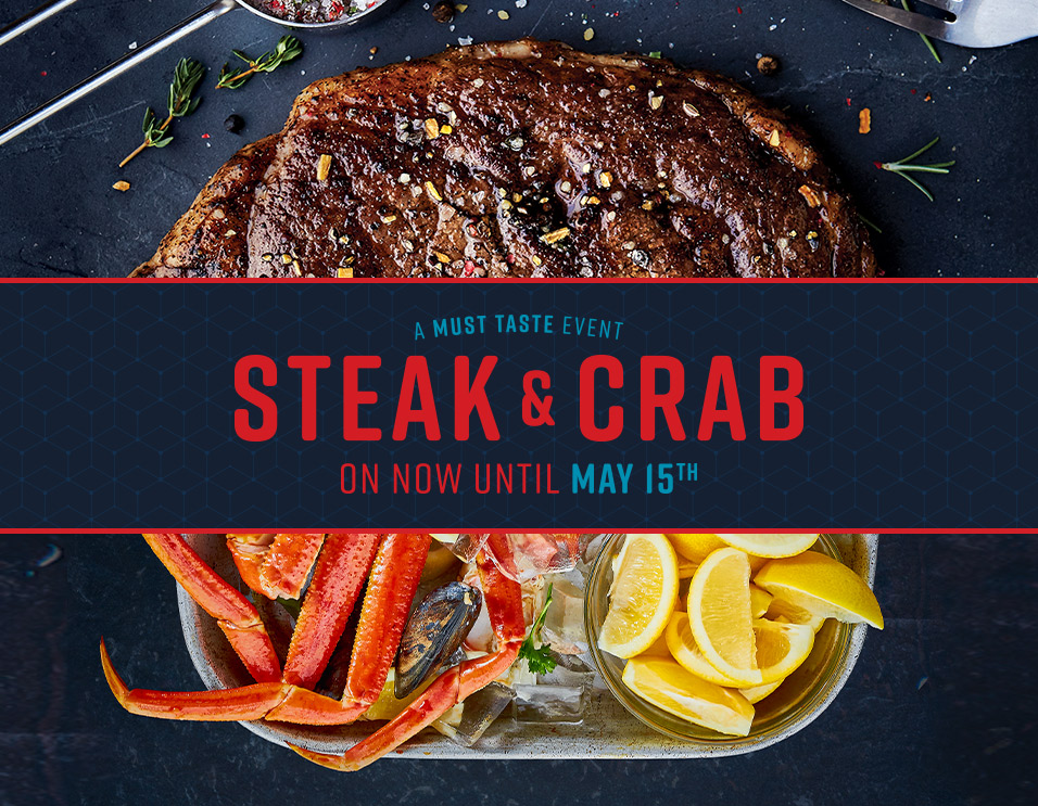 Steak & Crab is Back