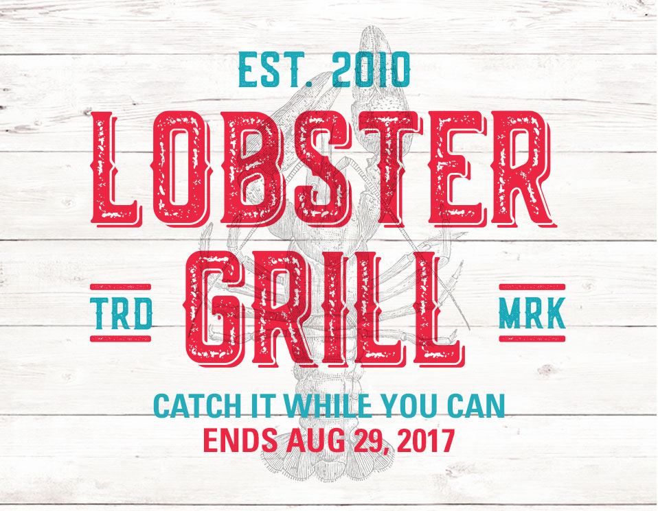LOBSTER GRILL IS BACK AT CHOP