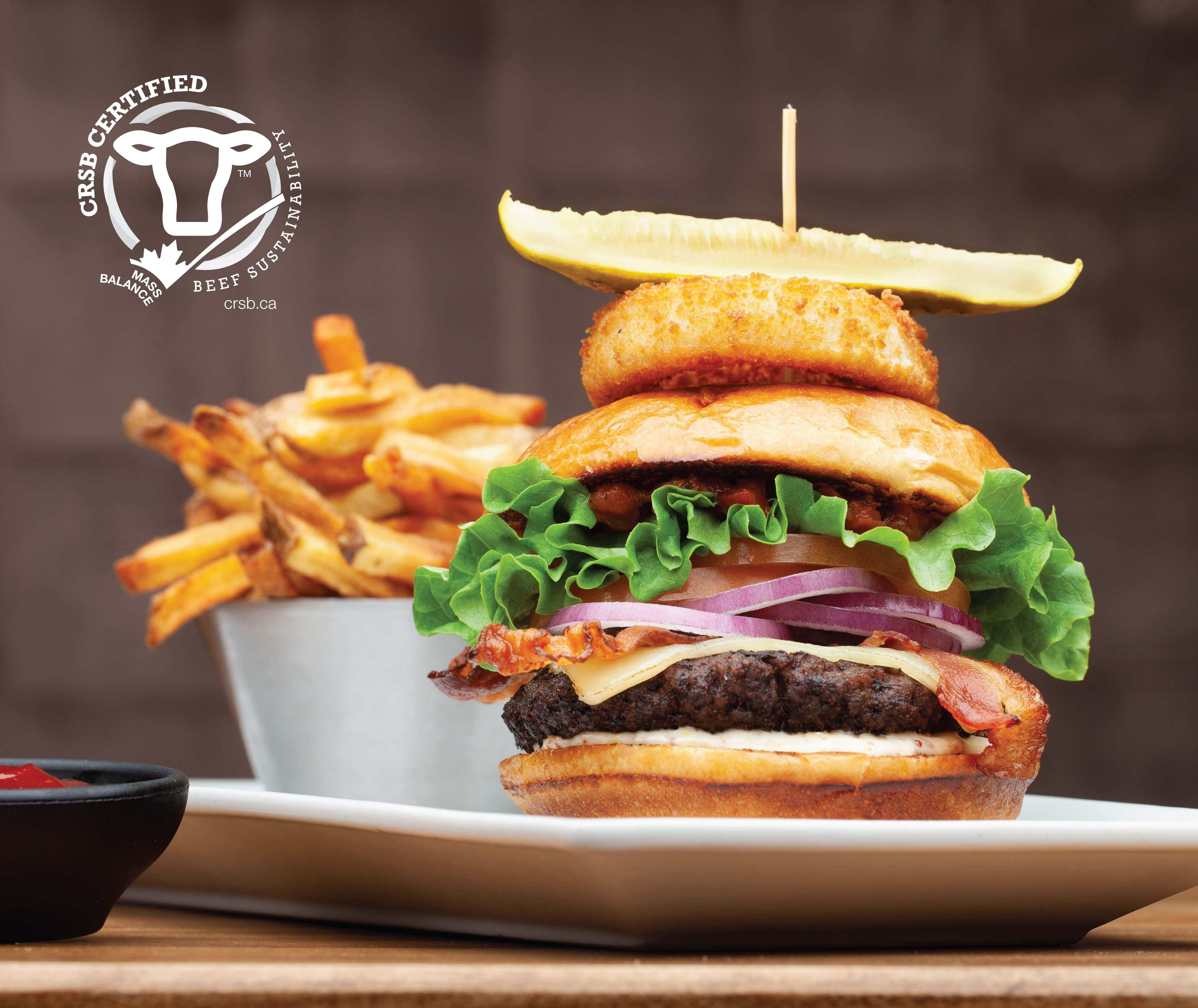 The Chop Burger - Supporting Sustainable Beef