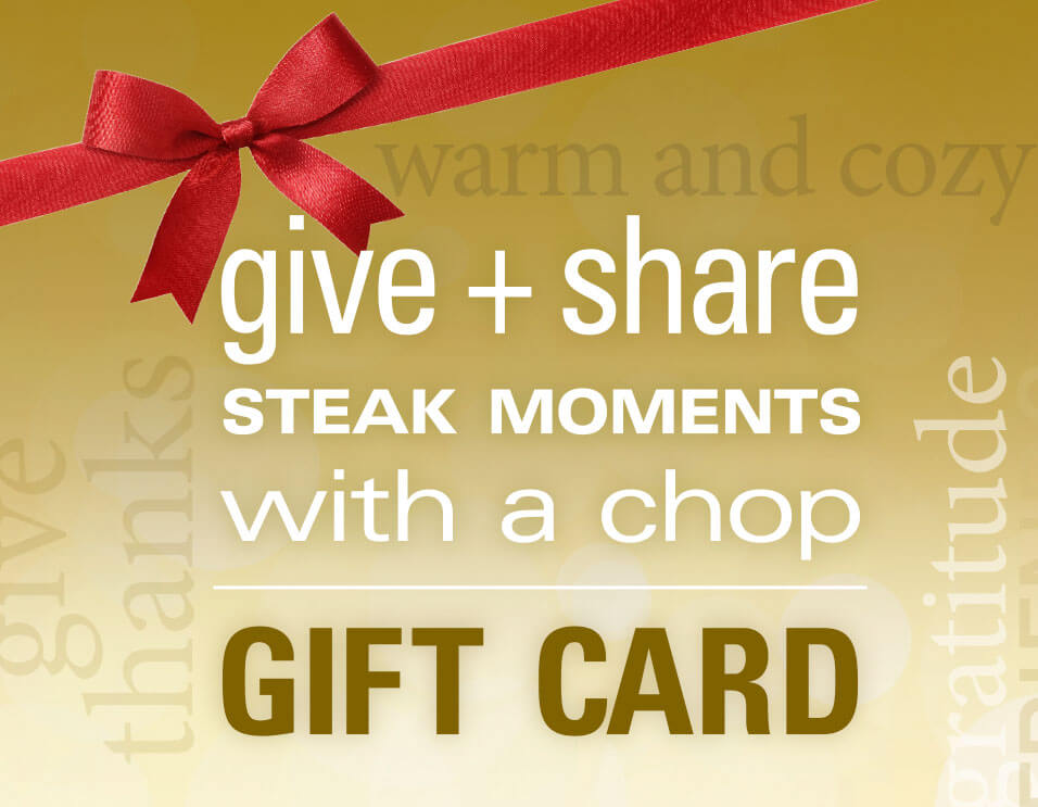 Give + Share Steak Moments